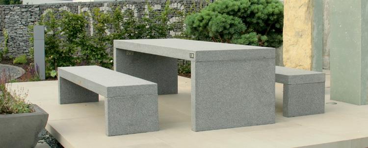 Tisch rustenburg blau grau cantera naturstein welten for Naturstein tisch