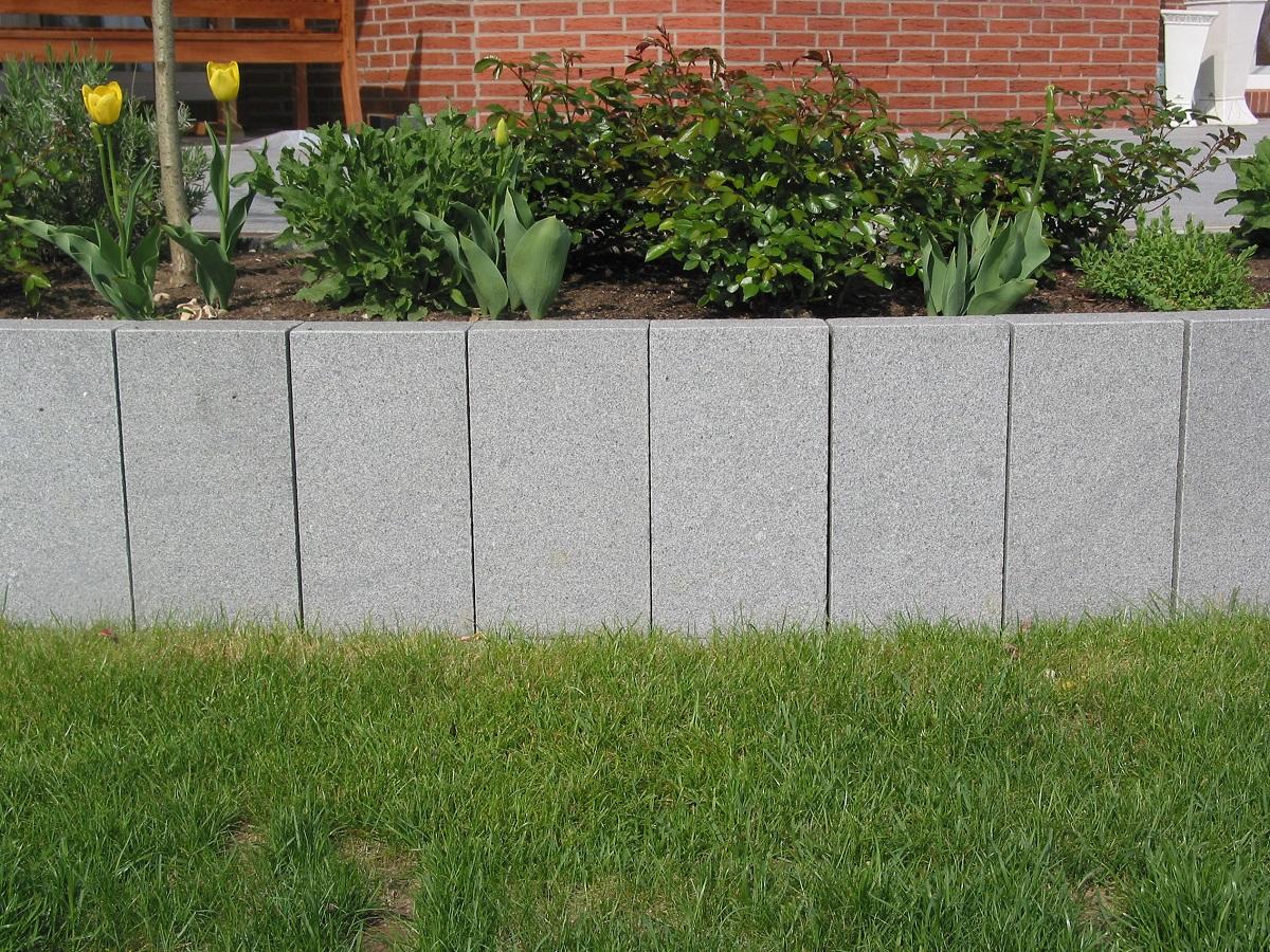 palisade architecture granit grau cantera naturstein welten. Black Bedroom Furniture Sets. Home Design Ideas